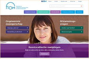 Fiom.nl biedt informatie over ongewenste zwangerschap. Gemaakt door Fiom.