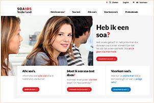 Soaids.nl biedt informatie over soa's. Gemaakt door Soa Aids Nederland.