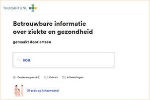 Thuisarts.nl biedt uitgebreide informatie over soa's. Gemaakt door het Nederlandse Huisartsen Genootschap.