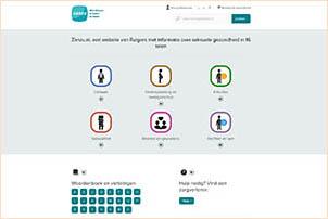 Zanzu.nl biedt informatie over seksuele gezondheid in 16 talen. In Nederland aangeboden door Rutgers.